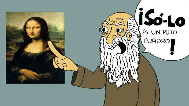 """¿Qué le diría da Vinci a todos esos """"investigadores""""?"""